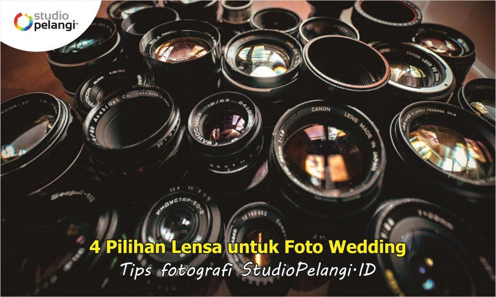 4 Pilihan Lensa untuk Foto Wedding