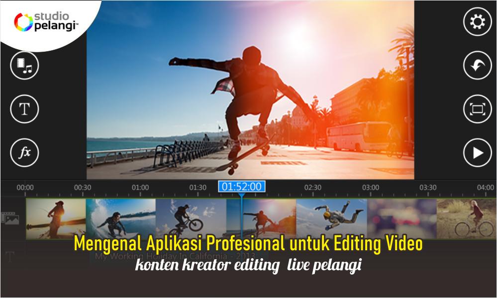 Mengenal Aplikasi Profesional untuk Editing Video